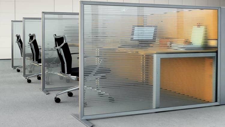 Мобильные офисные перегородки под ключ