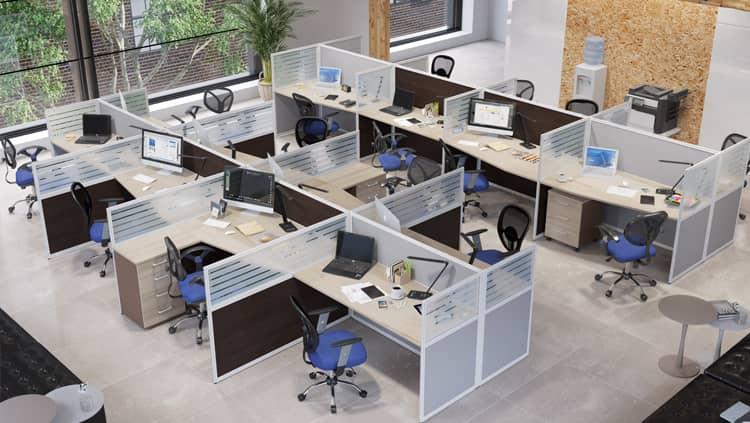 Как выбрать офисные перегородки?